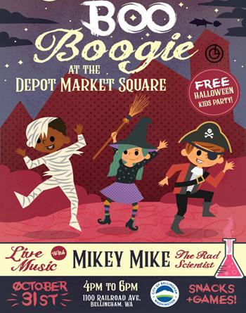 Boo Boogie Bellingham Parks 2