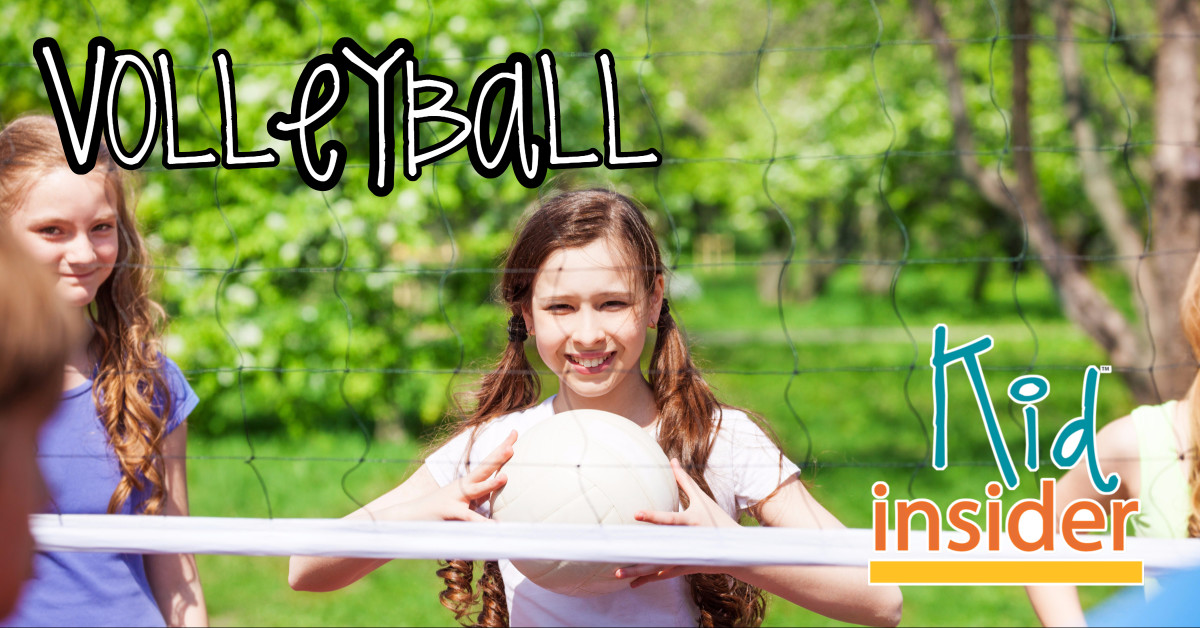 Volleyball for kids in Whatcom County, WA