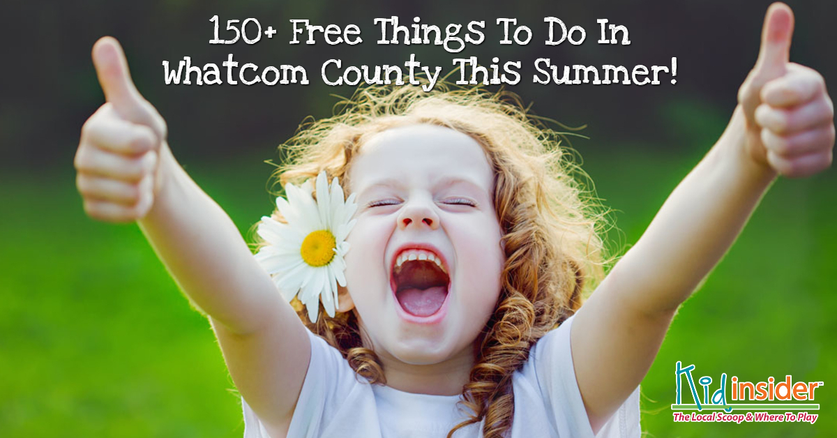 Whatcom County's Free Summer Fun Guide