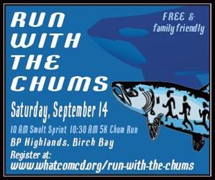 Run With The Chums Black Border